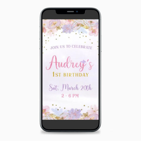 Butterfly Video Invitation - Easy Inviting