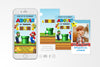 Super Mario Bros Birthday Invitation Video Animated Card - Print Me Pretty