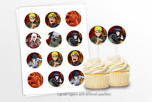 Load image into Gallery viewer, Naruto Party Decorations Kit - Print Me Pretty