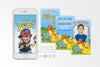 Pokemon Birthday Invitation Video Animated Card - Print Me Pretty