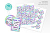 VSCO Girl Party Favors Tags - Print Me Pretty