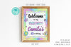VSCO Girl Welcome Sign - Print Me Pretty