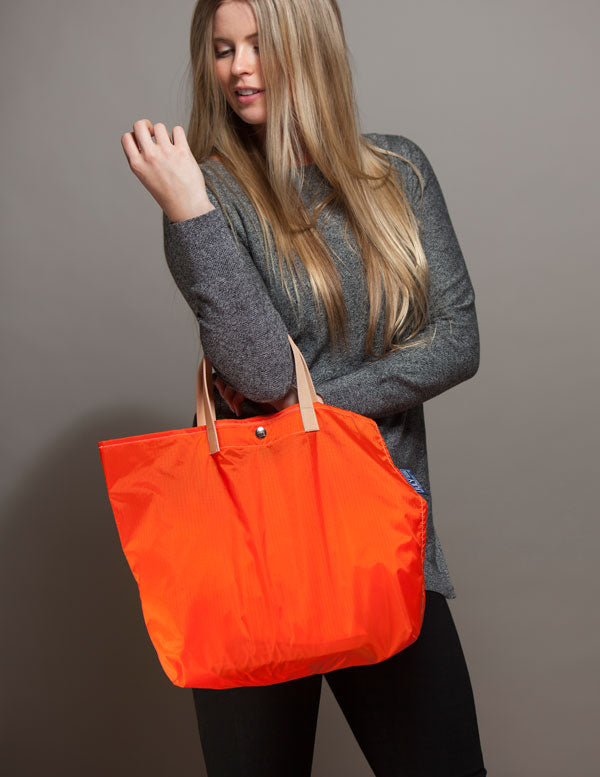 Orange Aix Tote