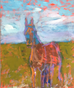 Sweet Virginia, Horse Painting, Original Artwork