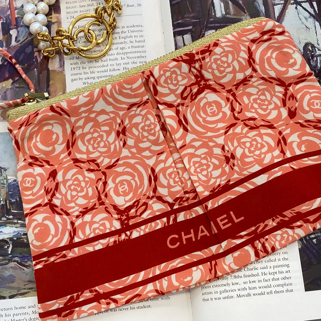 Vintage Chanel Scarf Clutch by Hampton Road