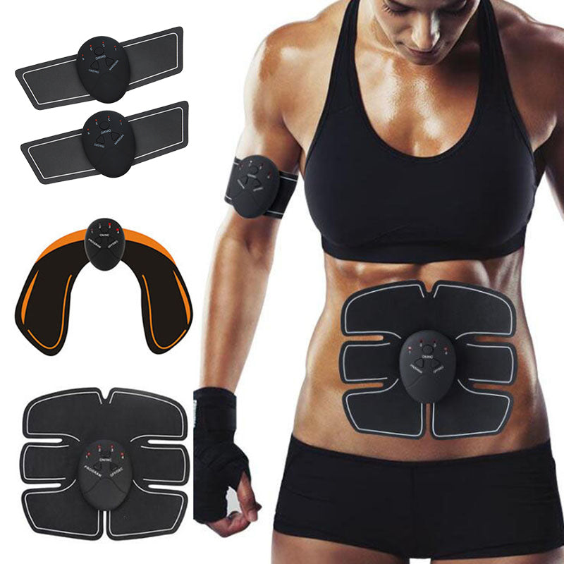 ABfit™ 11 Piece Muscle Electrical Stimulator EMS Buttock Abdominal Arm Fitness Trainer