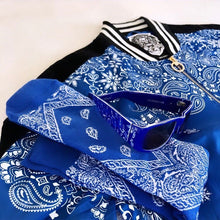 Load image into Gallery viewer, Rich & Ruthless Paisley Blue Ensemble