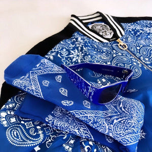 Rich & Ruthless Paisley Blue Ensemble