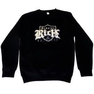 Compton Rich & Ruthless embroidered sweatshirt