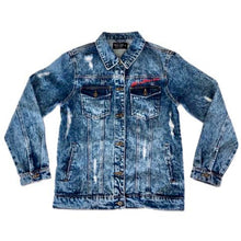 Load image into Gallery viewer, Rich & Ruthless Family - Mafia Fear No One - denim jacket