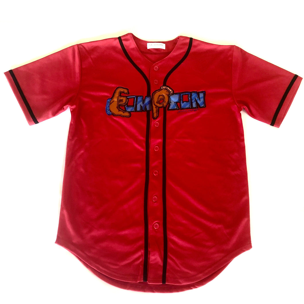 'Compton' Jersey red