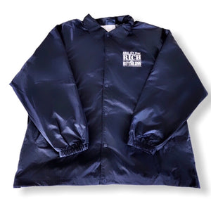 Real G's Stay Rich & Ruthless Jacket (Navy)