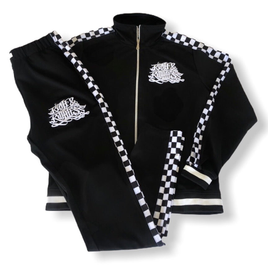 Rich & Ruthless Tracksuit  Checkered