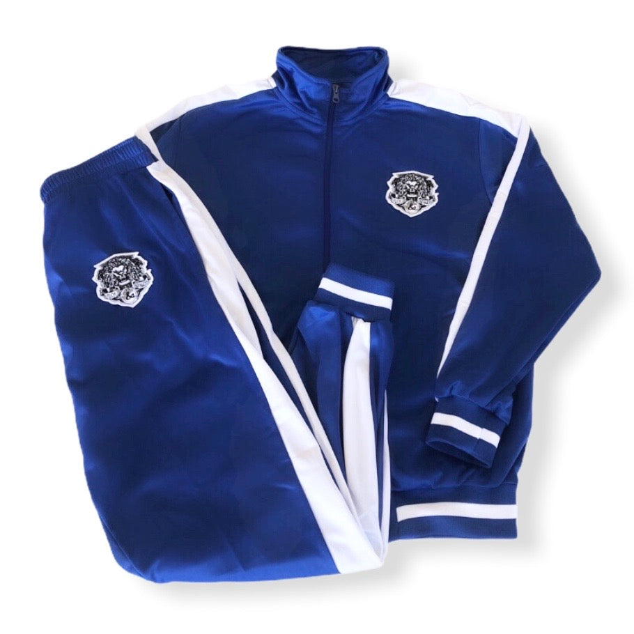 Rich & Ruthless Lioncrest Tracksuit blue