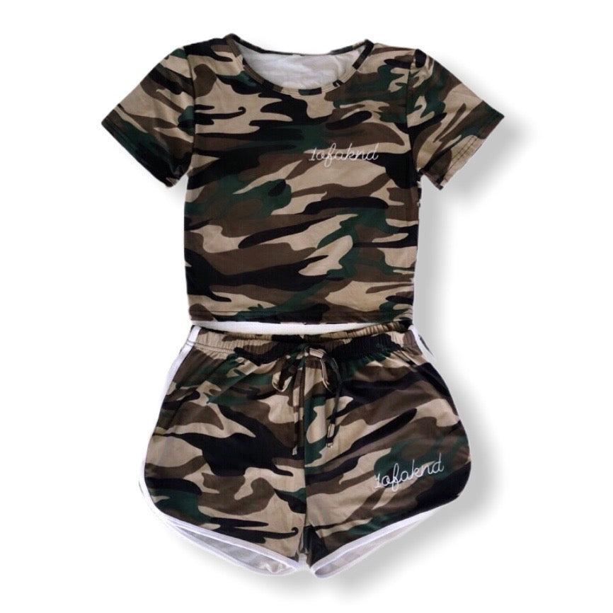1ofaknd Camo Co-ords