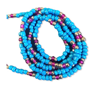 1ofaknd Waist Beads ~ Atlantic