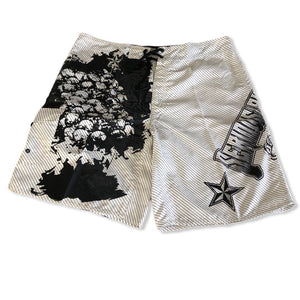 1ofaknd SP Board Shorts ~ white