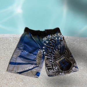 1ofaknd SP Board Shorts ~ blue