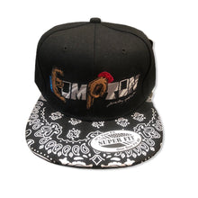 Load image into Gallery viewer, Compton Unity snapback ~ black