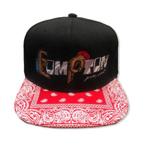 Load image into Gallery viewer, Compton Unity snapback ~ red