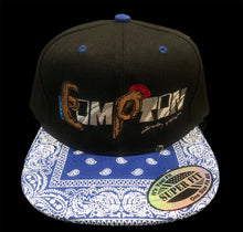 Load image into Gallery viewer, Compton Unity snapback ~ blue