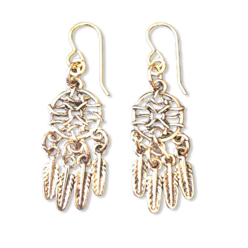 Petite Dream Catchers ~ earrings