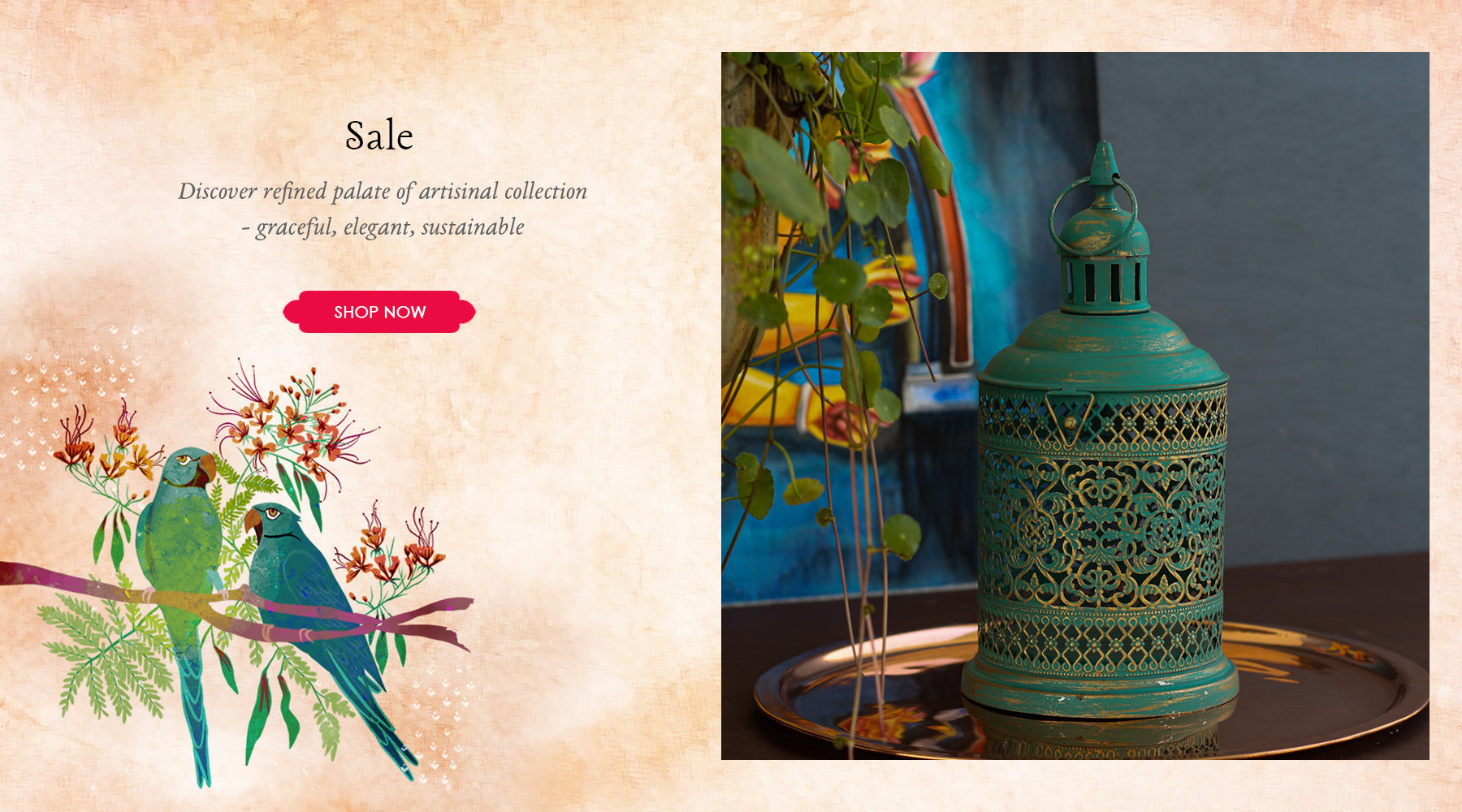 Sale of Luxury Home Décor Products