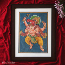 Load image into Gallery viewer, Steel Handpainted Serving Bowl - Set of 2