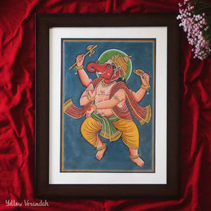 Steel Handpainted Serving Bowl - Set of 2