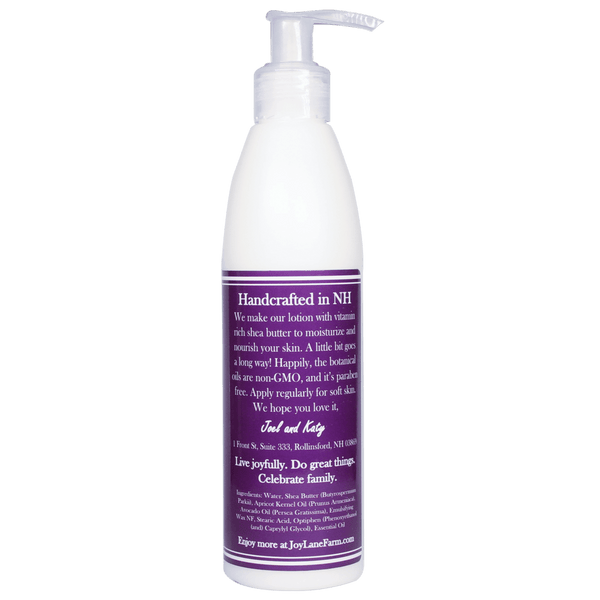 Moisturizing Lavender Body Lotion for Sensitive Skin Paraben Free with Natural Essential Oils
