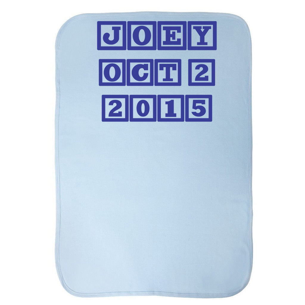 Baby Thermal Blanket - Personalized