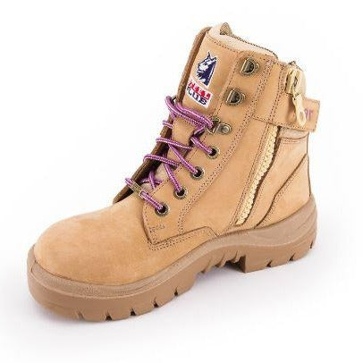 Steel Blue Boots - 592761 - Southern Cross Zip Ladies: PR Midsole-SAFETY BOOTS-THE BOOTS CLOTHES SAFETY STORE-SAND-6AU WOMENS-BOOTS CLOTHES SAFETY
