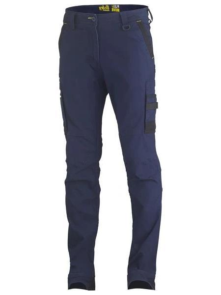 Bisley BPC6331 Flex & Move Pant Cargo-WORKWEAR-BOOTS CLOTHES SAFETY-NAVY-77R-BOOTS CLOTHES SAFETY