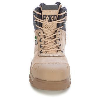 FXD WB-2 4.5 SAFETY BOOT - ZIP & BUMP CAP-WORK BOOT-BOOTS CLOTHES SAFETY-BOOTS CLOTHES SAFETY