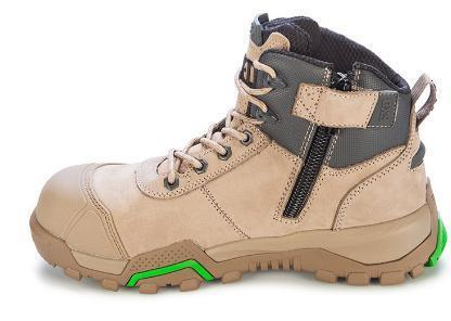 FXD WB-2 4.5 Safety Boot Zip & Bump Cap-WORK BOOT-BOOTS CLOTHES SAFETY-BOOTS CLOTHES SAFETY
