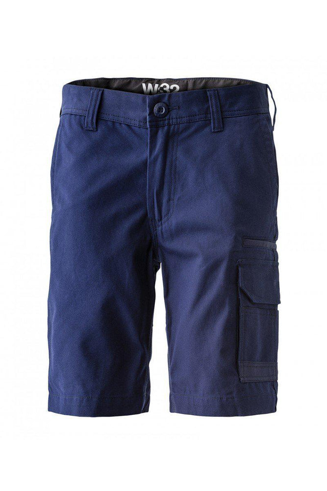 FXD WS-3 Stretch Work Short Cargo-WORKWEAR-BOOTS CLOTHES SAFETY-NAVY-72R-BOOTS CLOTHES SAFETY