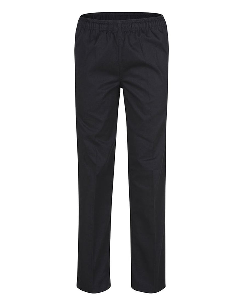 JB'S 5CCP Elastic Waist Chef Pant-HOSPITALITY-BOOTS CLOTHES SAFETY-BLACK-XSM-BOOTS CLOTHES SAFETY