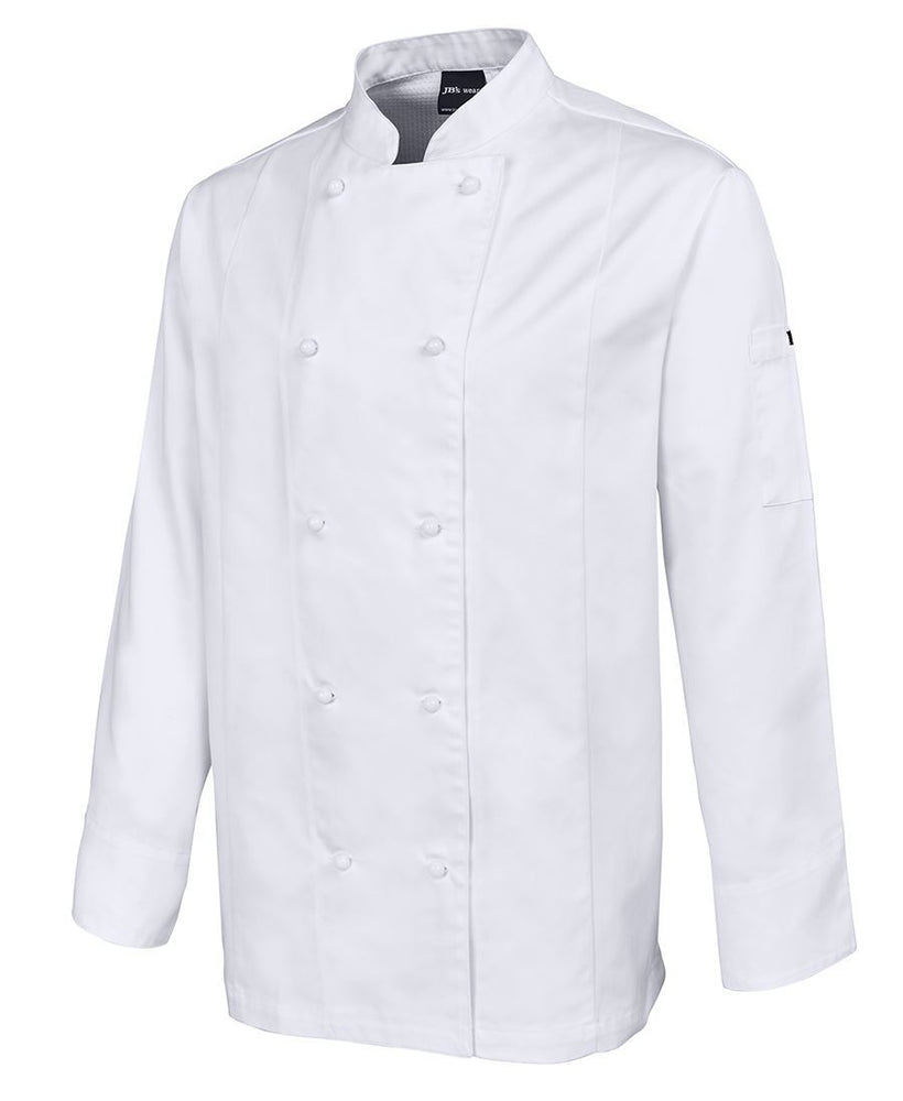JB'S 5CVL Vented Chef Jacket Long Sleeve-HOSPITALITY-BOOTS CLOTHES SAFETY-BOOTS CLOTHES SAFETY