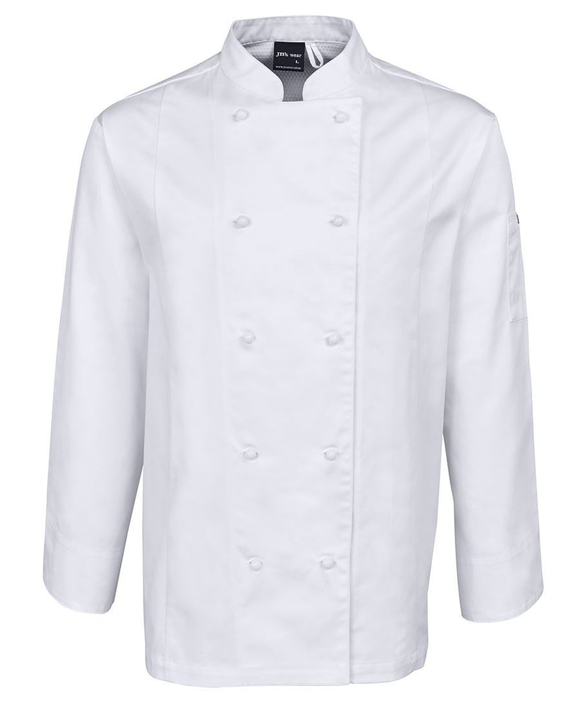 JB'S 5CVL Vented Chef Jacket Long Sleeve