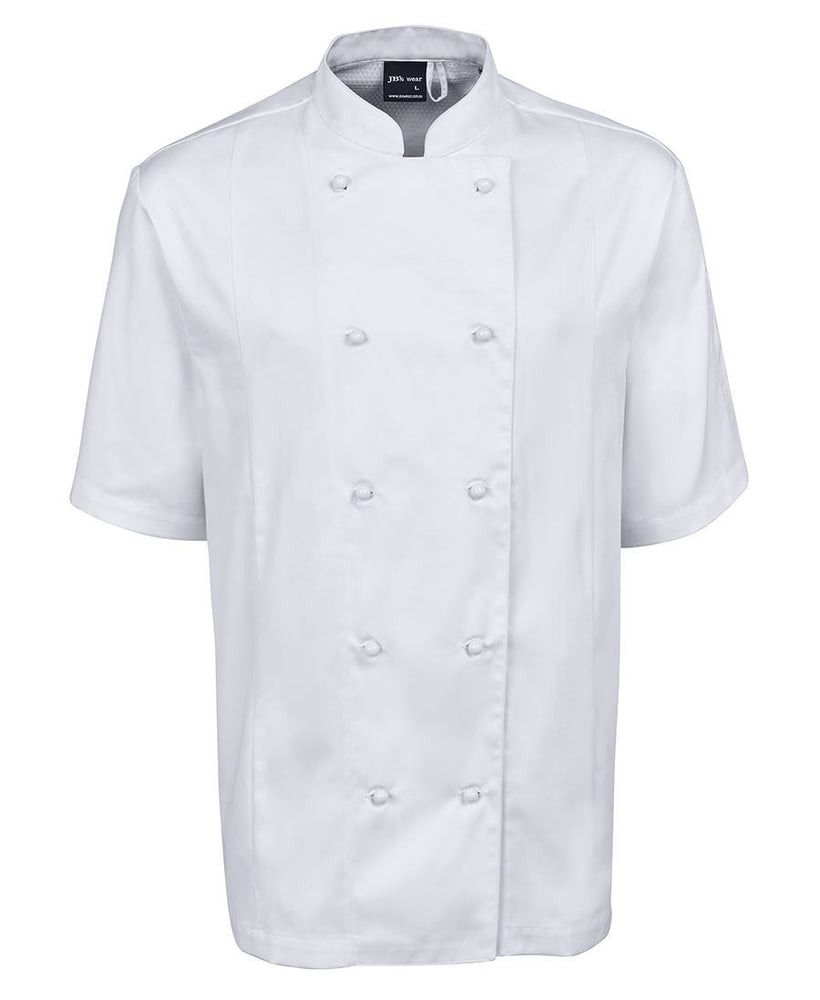 JB'S 5CVS Vented CHEF JACKET SHORT SLEEVE