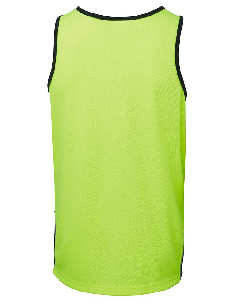 JB'S 6HCS4 HI VIS CONTRAST SINGLET-HI VIS SINGLET-BOOTS CLOTHES SAFETY-BOOTS CLOTHES SAFETY