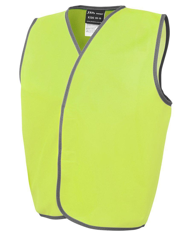 JB'S 6HVSU KIDS HI VIS SAFETY VEST