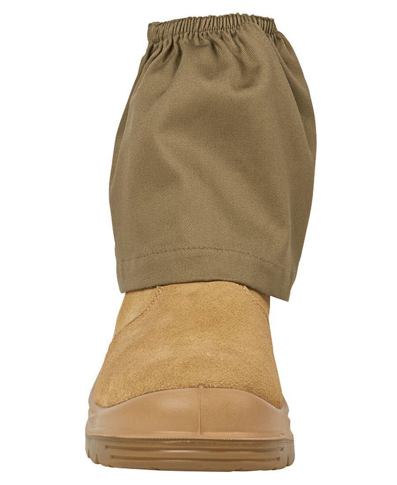 JB'S 9EAP COTTON BOOT COVER-WORK BOOT-BOOTS CLOTHES SAFETY-KHAKI-OSFA-BOOTS CLOTHES SAFETY
