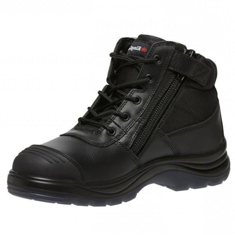 KINGGEE K27175 TRADIE PUNCTURE RESISTANT BOOT-WORK BOOT-BOOTS CLOTHES SAFETY-BLACK-7AU-BOOTS CLOTHES SAFETY