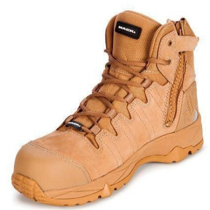 MACK OCTANE SAFETY BOOT ZIP SIDE