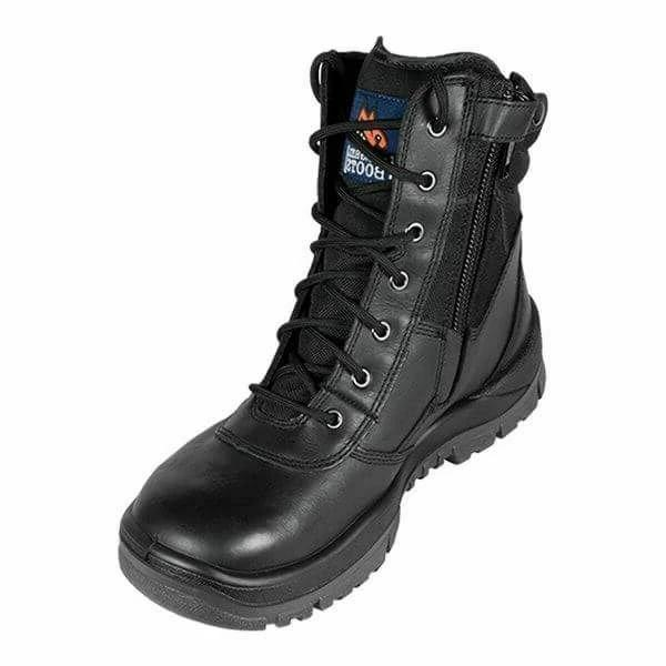MONGREL 251020 SAFETY BOOT - ZIP SIDE