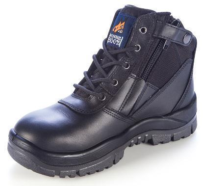 MONGREL 261020 SAFETY BOOT - ZIP SIDE