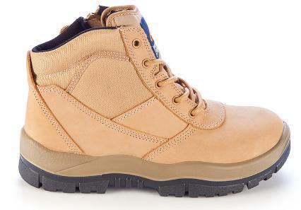 MONGREL 261050 SAFETY BOOT - ZIP SIDE-WORK BOOT-BOOTS CLOTHES SAFETY-BOOTS CLOTHES SAFETY