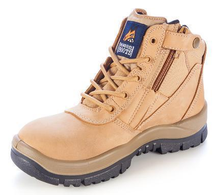 MONGREL 261050 SAFETY BOOT - ZIP SIDE