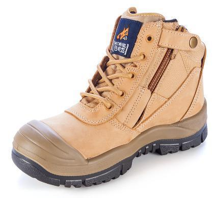 MONGREL 461050 SAFETY BOOT - ZIP & BUMP CAP